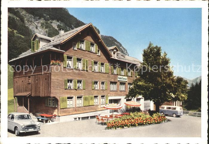 Weisstannen Hotel Gemse Kat. Weisstannen