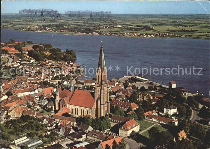 Schleswig Holstein Fliegeraufnahme Sankt Petri Dom Kat. Schleswig