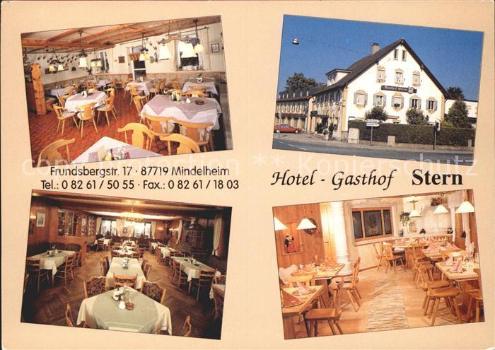 Mindelheim Hotel Gasthof Stern Kat. Mindelheim