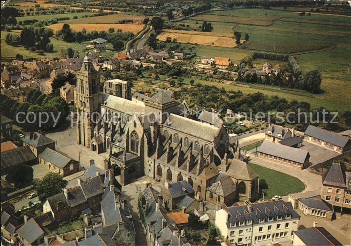 Dol de Bretagne Cathedrale ensemble Kat. Dol de Bretagne