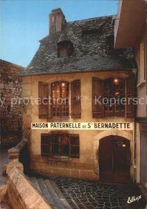 Lourdes Hautes Pyrenees Maison Paternelle S Bernadette Kat. Lourdes