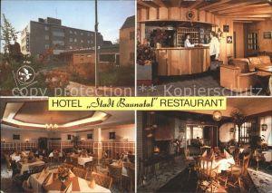 Baunatal Hotel Stadt Baunatal Restaurant  Kat. Baunatal