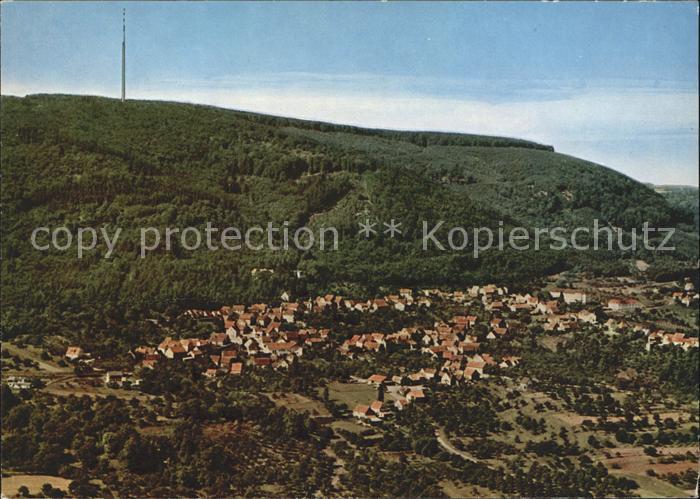 Dannenfels Fliegeraufnahme Donnersberg Fernsehturm Kat. Dannenfels
