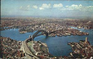 ke73553 Sydney New South Wales Fliegeraufnahme Harbour Botany Bay Kat. Sydney