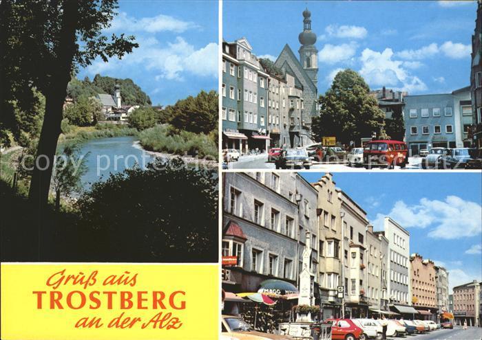 Trostberg Strassenansichten  Kat. Trostberg