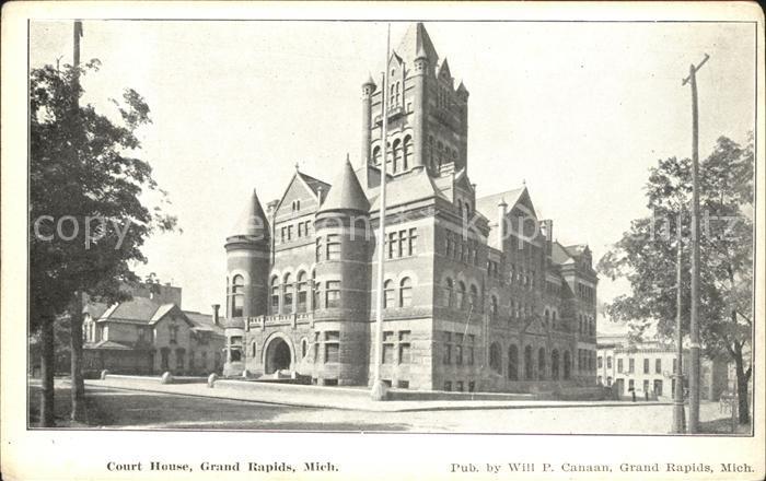 Grand Rapids Michigan Court House  Kat. Grand Rapids