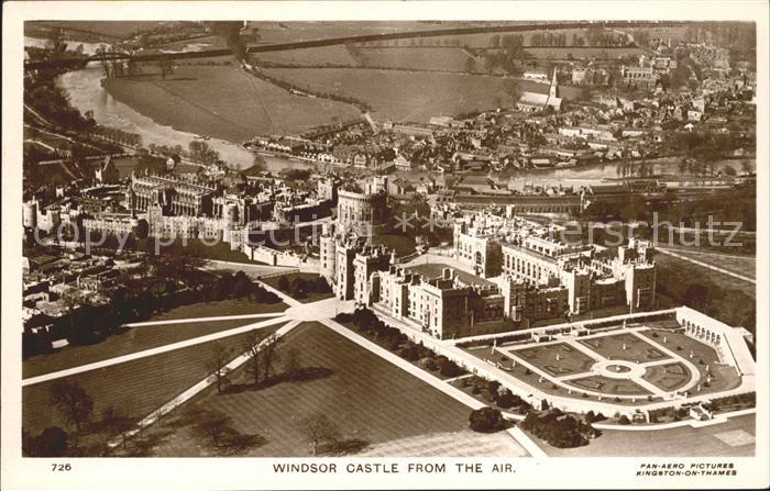 Windsor Berkshire Windsor Castle Fliegeraufnahme Kat. Windsor and Maidenhead