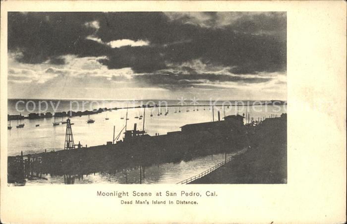 San Pedro California Hafen  Kat. San Pedro