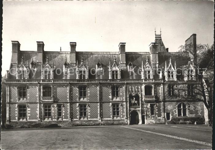 Blois Loir et Cher Le Chateau de Blois Kat. Blois