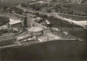 Wilhelmshaven Strandhalle Hafeneinfahrt Kat. Wilhelmshaven