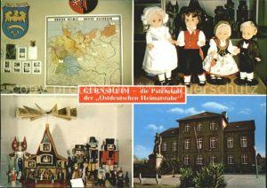 Gernsheim Ostdeutsche Heimatstube Puppen Denkmal Kat. Gernsheim