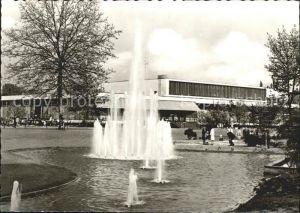 Neuss Stadthalle Springbrunnen / Neuss /Rhein-Kreis Neuss LKR