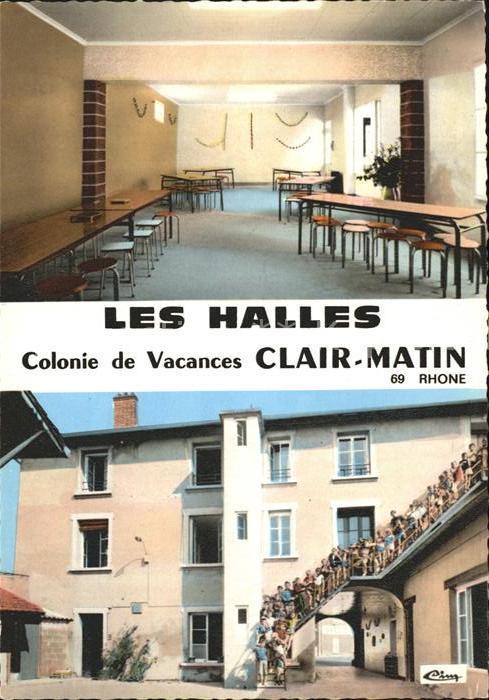 Les Halles Colonie Vacances Clair Matin Kat. Les Halles