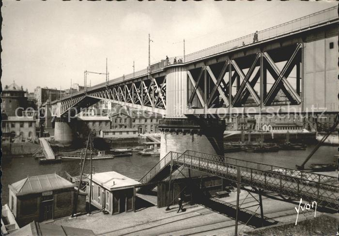 Brest Finistere Le Pont tournant Kat. Brest