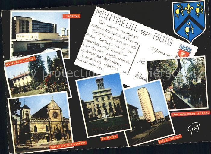 Montreuil Bobigny  Kat. Montreuil