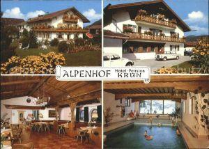 Kruen Hotel Pension Alpenhof Kat. Kruen
