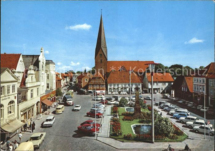 Eutin Marktplatz Rosenstadt Kat. Eutin