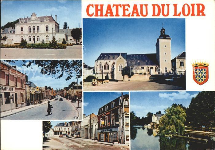Chateau du Loir  Kat. Chateau du Loir
