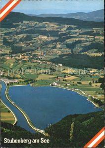 Stubenberg Steiermark Fliegeraufnahme See Kat. Stubenberg am See