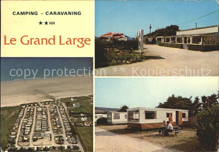 Les Pieux Camping Le Grand Large Kat. Les Pieux