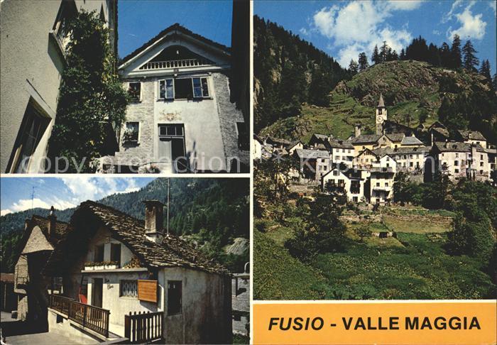 Fusio Valle Maggia Kat. Fusio