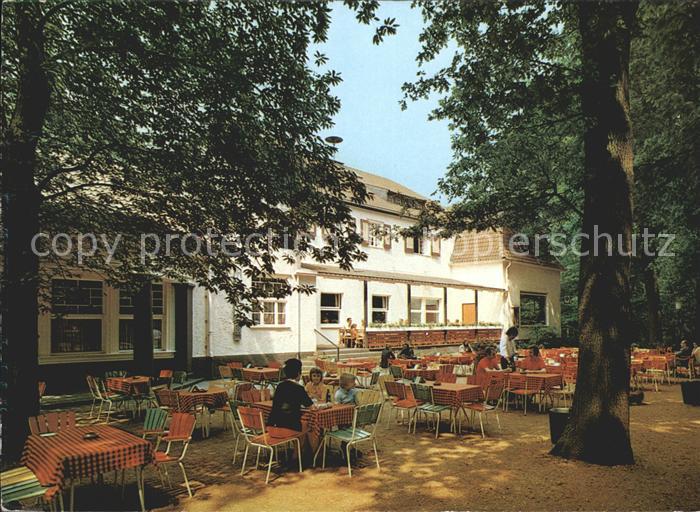 Krefeld Cafe Restaurant Bergschaenke Kat. Krefeld Nr. ke81213 ...