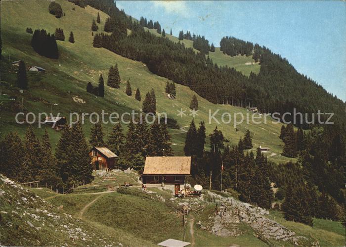 Alpnach Dorf Ferienheim Stock am Pilatus mit Luetholdsmatt Kat. Alpnach Dorf