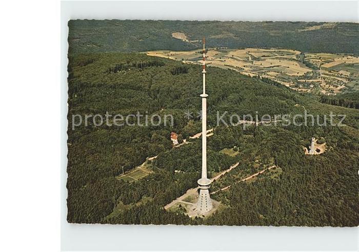 Dannenfels Donnersberg Gipfel Ludwigsturm Fernsehturm  Kat. Dannenfels