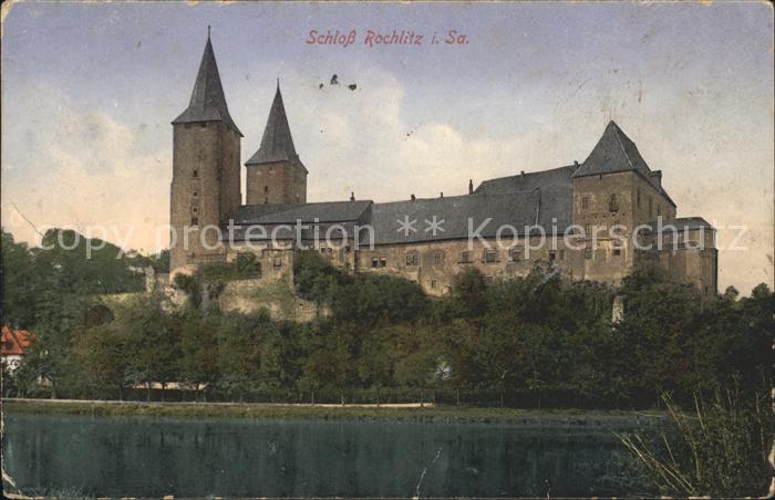 Rochlitz Sachsen Schloss Rochlitz Kat. Rochlitz