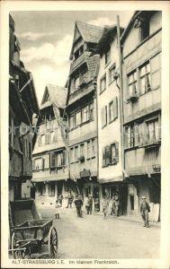 Strassburg Elsass Im kleinen Frankreich Kat. Strasbourg