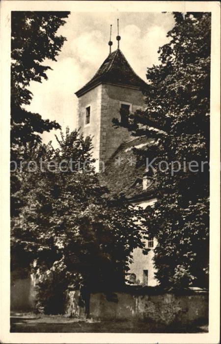 Kreba Neudorf Evangelische Kirche  Kat. Kreba Neudorf
