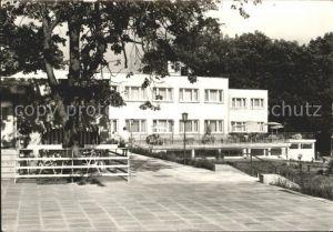 Grosszerlang Schulungs  und Erholungszentrum Adamswalde Hauptgebaeude Kat. Rheinsberg