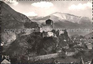 Lourdes Hautes Pyrenees Chateau Fort Montagnes Kat. Lourdes