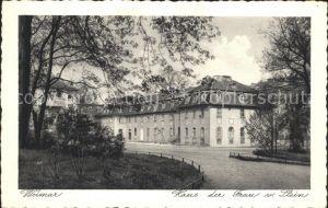 Weimar Thueringen Haus der Frau von Stein Kaiser Kaffee Kat. Weimar