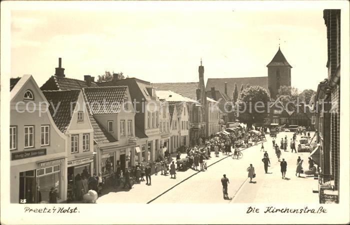 Preetz Kirchenstrasse Kat. Preetz