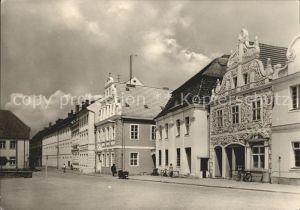 Luckau Niederlausitz Marktplatz Kat. Luckau Niederlausitz