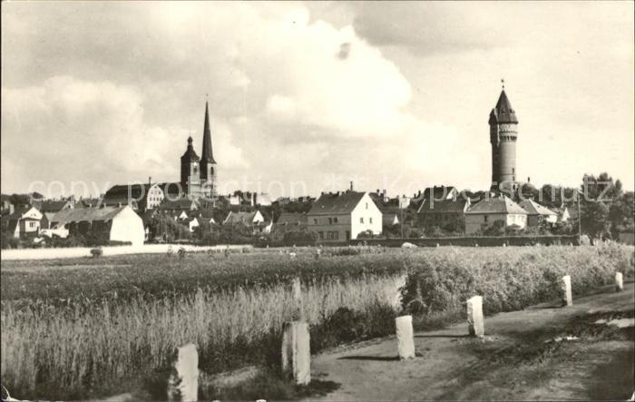 Burg Magdeburg Teilansicht Turm Kirche Kat. Burg