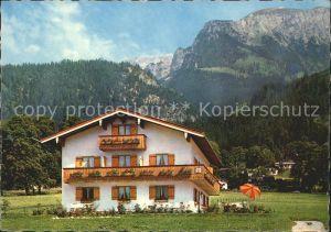 Berchtesgaden Pension Haus Bergheimat  Kat. Berchtesgaden