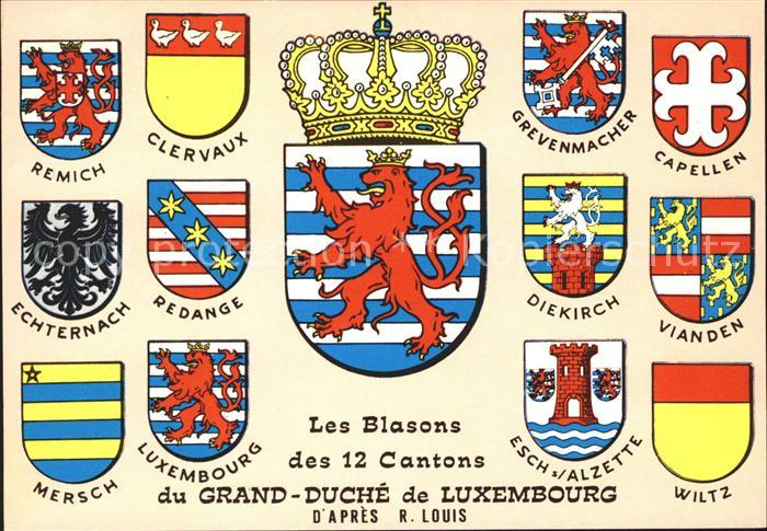 Luxembourg Luxemburg Grand   Duche de Luxembourg Kat. Luxembourg