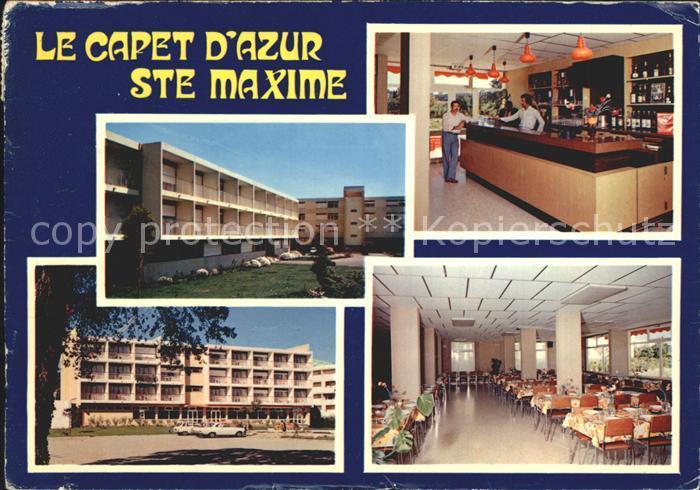 Sainte Maxime sur Mer Var Centre de Vacances Univac Le Capet d Azur Kat. Sainte Maxime