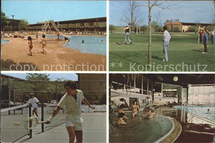 Des Plaines Ramada Hotel Indoor Outdoor Pools Golfplatz Tennisplatz ...
