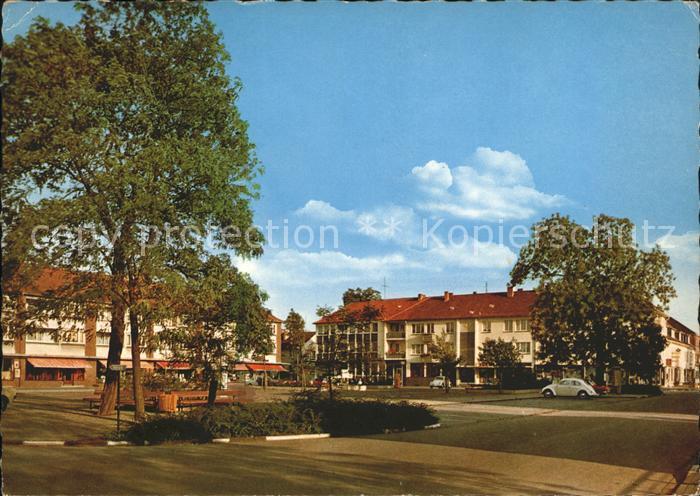 Friedrichsfeld Niederrhein Marktplatz Kat. Voerde (Niederrhein)