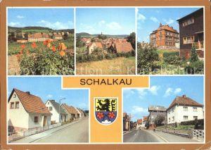 Schalkau Siedlung im Grund Bahnhofstrasse Kat. Schalkau