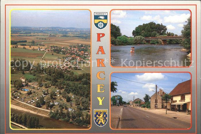 Parcey La Loue Route Nationale Kat. Parcey