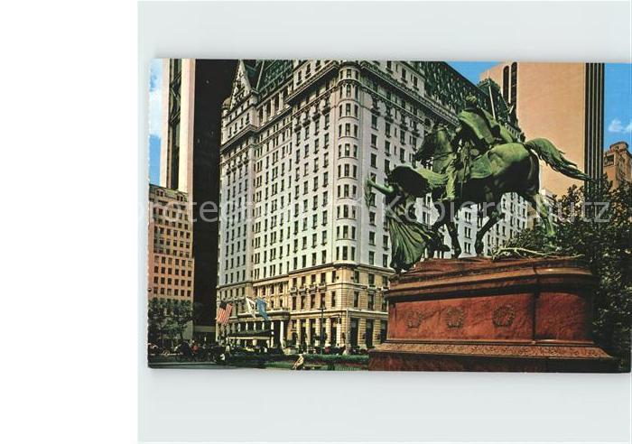 New York City The Plaza Hotel / New York /