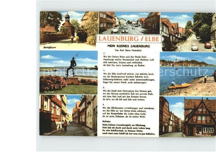 Lauenburg Elbe Schlossturm Neustadt Der Rufen Elbstr Hahnstorf aeltestes Haus Kat. Lauenburg  Elbe