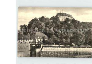 Frankenberg Sachsen Schloss Sachsenburg mit Zschopau Kat. Frankenberg Sachsen