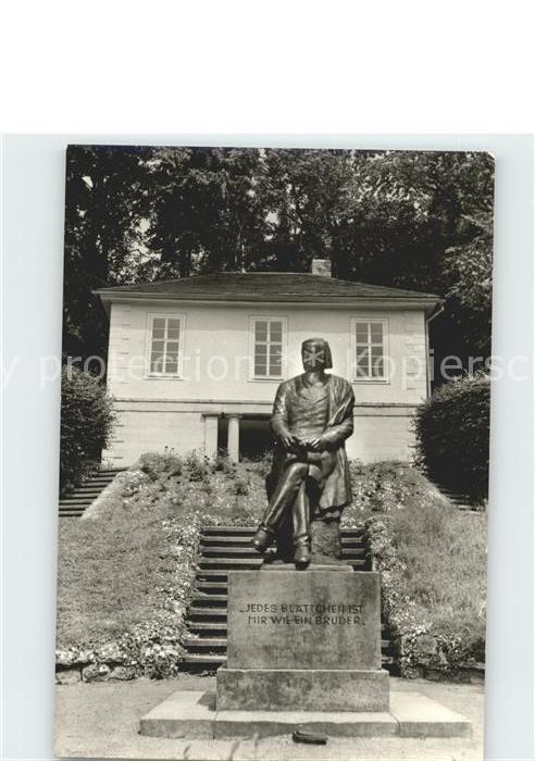 Eisfeld Otto Ludwig Denkmal Kat. Eisfeld