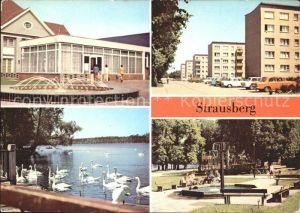 Strausberg Brandenburg Haus der NVA Klub am SeeFichteplatz Kat. Strausberg
