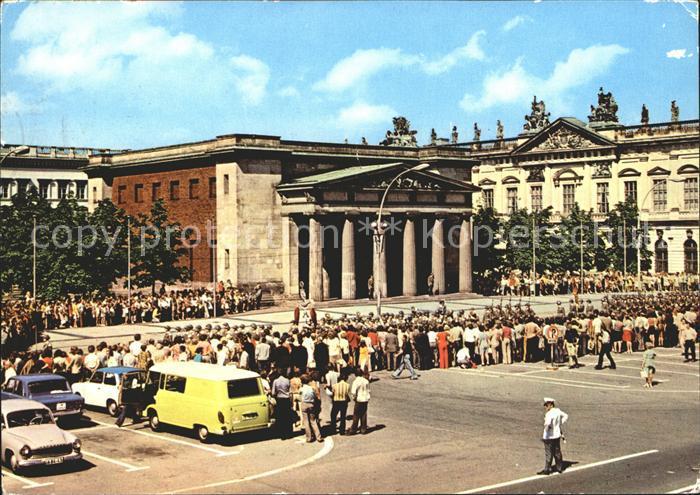 Berlin Mahnmal Unter den Linden Kat. Berlin